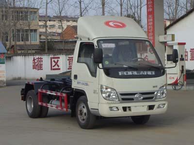 福田小卡车厢可卸式垃圾车