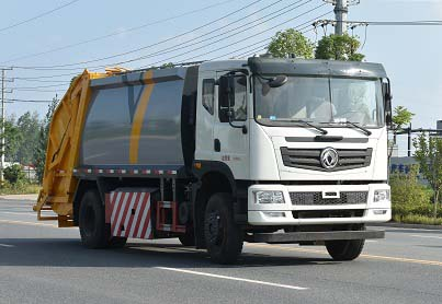 国六东风玉柴220压缩式垃圾车